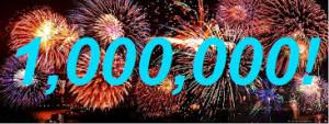 one million fireworks image